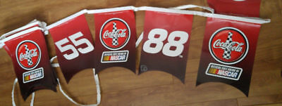 Coca cola nascar banner 24 ft check listing for car #s