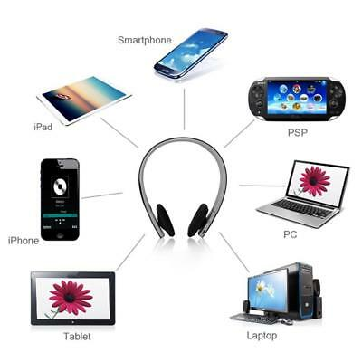 AEC Wireless Bluetooth 4.1+EDR Over-ear HiFi Headset Handsfree Headphone w/ Mic