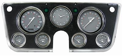 Grey 1967 68 69 70 71 1972  Chevy C10 Pu Pickup Truck Gauge Dash Panel For Ls