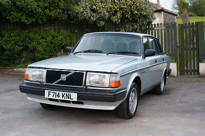 1988 F Volvo 240 GLT 5 speed manual saloon lovely classic DELIVERY AVAILABLE