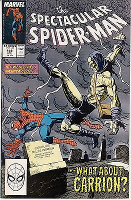 The Spectacular Spider-Man #149 (Apr 1989, Marvel)