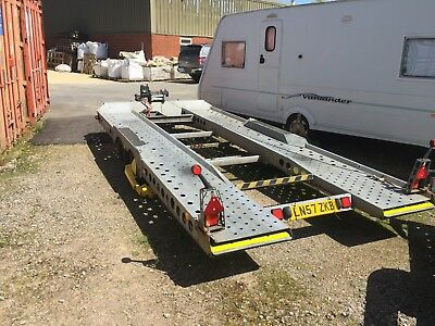 Ifor Williams CT177 Twin Axle 3500kg car transporter trailer