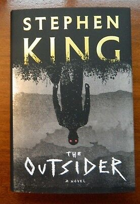 The Outsider by Stephen King 2018 hardcover 1st edition/1st printing in DJ