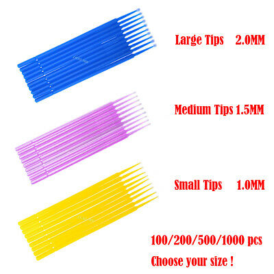 Touch Up Paint Micro Brush Large / Medium / Small Tips - Micro Applicators