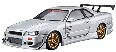 Aoshima The Tuned Car No.50 Nissan C-WEST BNR34 Skyline GT-R 2002 1/24 Scale Kit