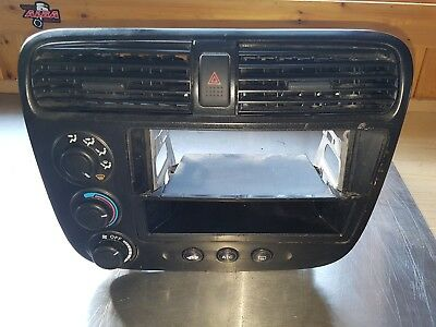 2001-2005 honda civic dash panel radio climate control