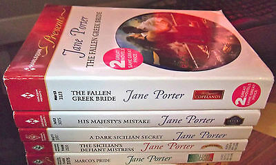 Lot Of 6 Jane Porter Harlequin Presents Romance Stories 5 Books New 2004 - 2013