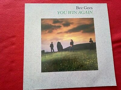 """Bee Gees - You Win Again - 12"""" Maxi Single - WB Records 920 790 -0"""
