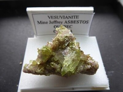 Vesuvianite Mine Jeffrey Asbesto Quebec Canada