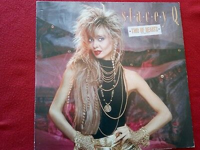 """Stacey Q - Two Of Hearts - 12"""" Maxi Single - Atlantic 786 797-0"""