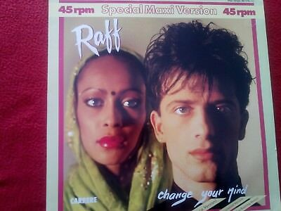 """Raff - Change Your Mind - 12"""" Maxi Single - Carrere 881578-1"""