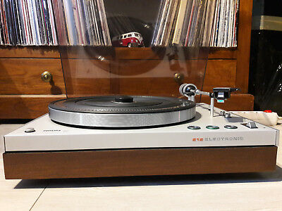 Philips GA 212 Sprung Chassis Belt-Drive Turntable