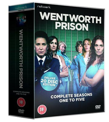 WENTWORTH PRISON the complete season series 1 2 3 4 & 5. One to Five.  New DVD.