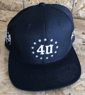 0ab2b5b8886 40OZ NY X Married To The Mob Bitches Be Like Snapback Hat white ...