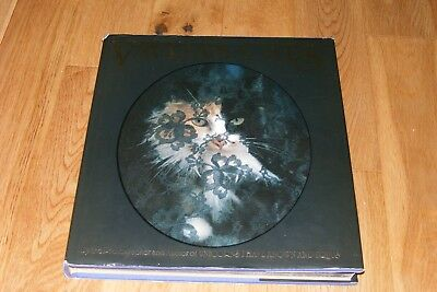 Vtg 1986 Robert Vavra Photography Art Coffee Table Book Cats Feline Kitty Photos