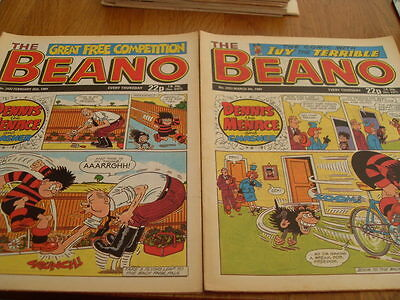 The Beano Comic Issue's No 2432 / 2433 1989
