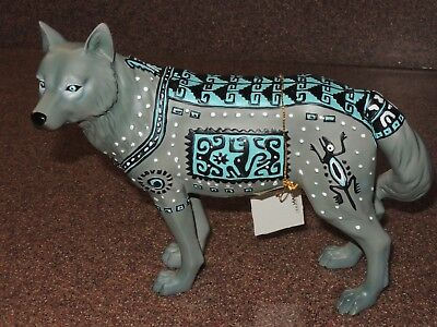 2004 Westland Call of the Wolf Figurine AZTEC 14105 with tag NO Box