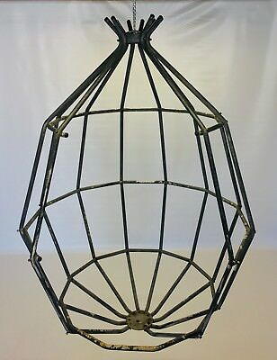 Vintage Arberg Parrot Cage Swing Chair Mid Century Danish Swedish Modern