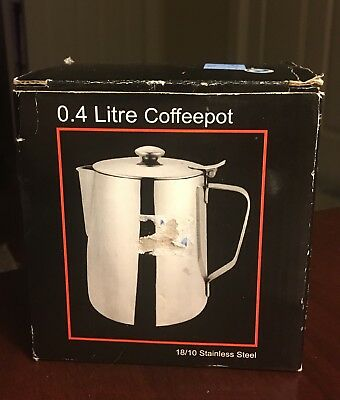 .4 Liter Stainless Steel Coffeepot