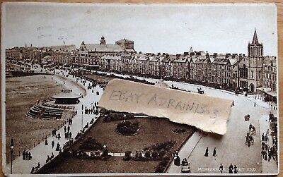 MORECAMBE West End 1931 Birds Eye View Bandstand Etc Unknown Publisher