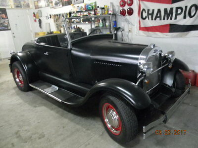 1980 Ford Model A  1929 Ford roadster  ; modified  Shay  repro