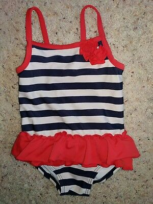 Carters baby girl swimsuit 18 mo.