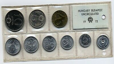 Ungarn KMS <hungary <budapest uncirculated 1972 st