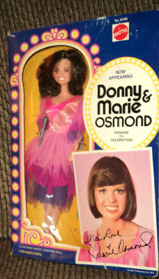 1976 Marie Osmond Doll By Mattel In Original Box!