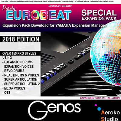 GENOS - Euro Beat Styles Expansion Pack Download for YEM V2.5