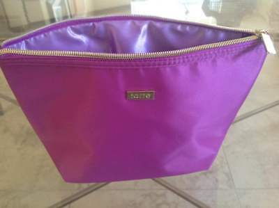 tarte purple with gold zip Makeup Bag - Rommy Brand new.