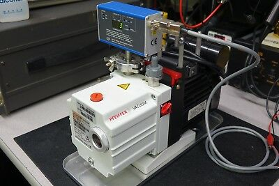 Pfeiffer Agilent Duo 2.5 Dual Rotor Rotary Vane Vacuum Pump  - CLEAN TESTED 2