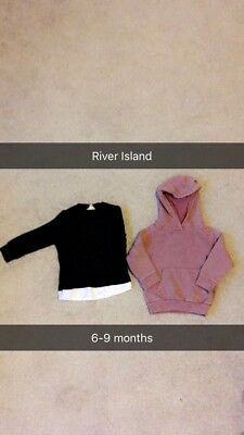 Baby Boy River Island Clothing Bundle 6-9 Months