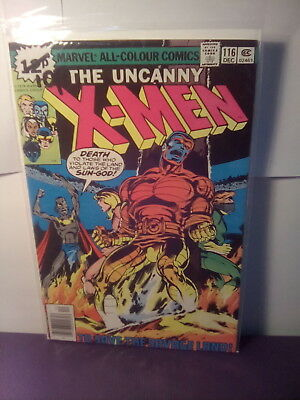 "X - MEN 116 ,  MARVEL BRONZE AGE 1978 "" SAVE THE SAVAGE LAND"" lot2.*UK.ONLY"