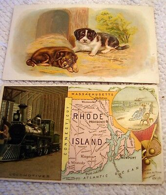 2 Arbuckle Coffee Victorian Trade Cards