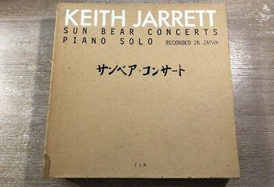 10 LP Box Set ECM 1100 Keith Jarrett ‎– Sun Bear Concerts GERMAN VINYL 1978