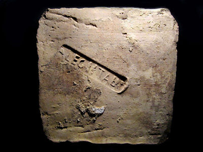 Extremely Rare, Large, Well Preserved Roman  *legio I Italica* Stamped Brick!!!