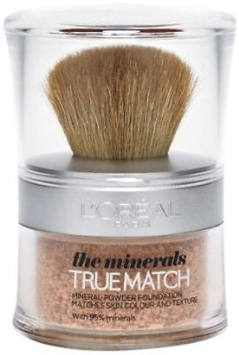 Loreal True Match Minerals Makeup Powder Foundation  - D1 W1 Golden Ivory