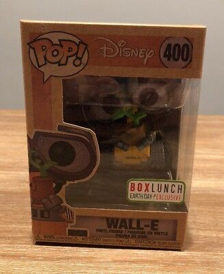 Funko Pop! Disney Wall-E #400 BoxLunch Earth Day Exclusive  - IN HAND - SOLD OUT