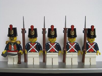 LEGO PIRATES NAPOLEONIC WARS SPANISH INFANTRY Soldiers MINIFIGS NEW