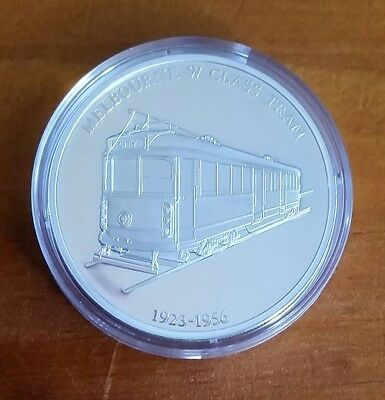 175 YEARS OF MELBOURNE 40g SILVER MEDALLION – MELBOURNE W CLASS TRAM 1923 – 1956