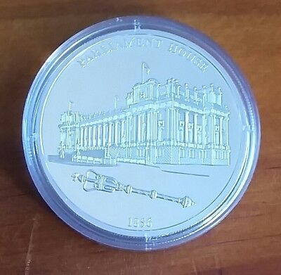 175 YEARS OF MELBOURNE 40g SILVER MEDALLION – VICTORIA'S PARLIAMENT HOUSE 1856