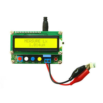 NEW Full-function LCD Capacitance meter inductance table Tester Meter Frequency