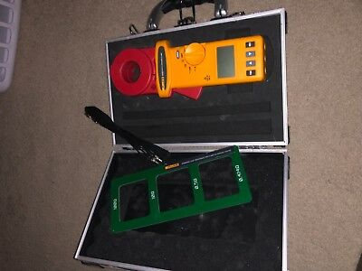 Fluke 1630 Earth Ground Clamp Electrical Test meter