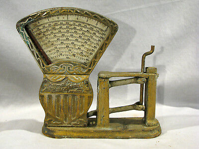 Antique NATIONAL SPECIALTY CANDY SCALE - FOR PARTS OR RESTORATION