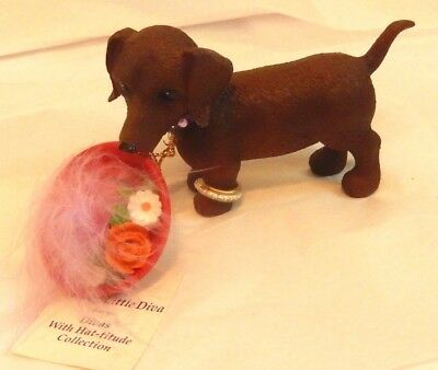 HAMILTON COLLECTION ~ Dachshund ~ Divas with Hat- itude