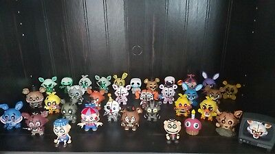 Five Nights at Freddy's Funko Mystery Minis Blacklight Twisted STANLEY You Pick