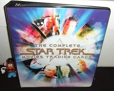 Star Trek The Complete Movies Ra 2007 Trading Card Album Binder Only No Relic