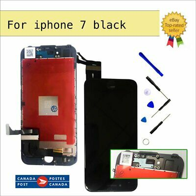 "For iPhone 7 4.7"" Black LCD Display Screen Touch Digitizer Assembly Replacement"