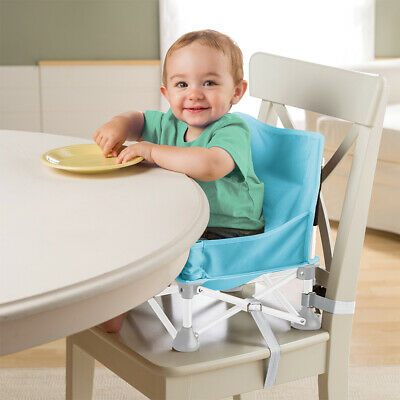 Summer Infant Baby Feeding Portable Travel Booster High chair Seat Aqua