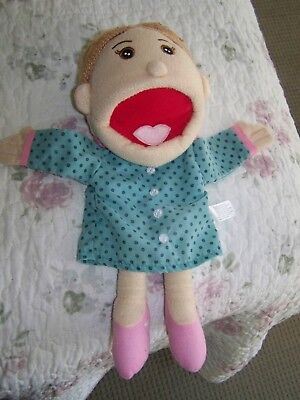 Cute Lady Hand Puppet